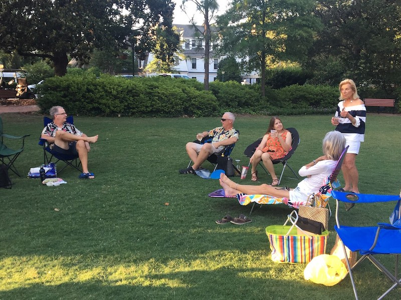 Wine Group at Tufts Park 2020
